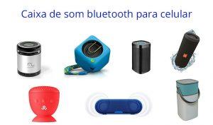 Caixa de som bluetooth para celular